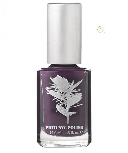 PRITI NYC - Vernis à Ongles non toxique naturel vegan Prune - 375 Royale Robe