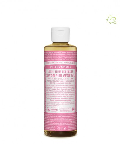 Dr. Bronner Organic Liquid Soap Cherry Blossom 240ml - 8 oz.