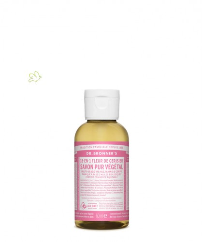 Dr. Bronner's - Organic Liquid Soap Cherry Blossom travel size 60ml