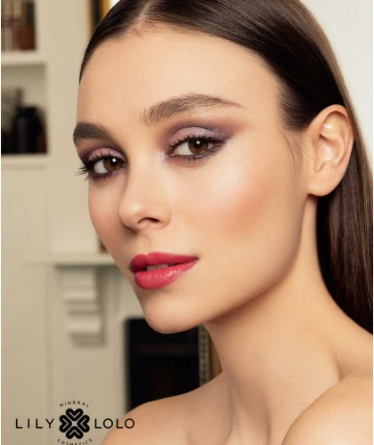 Lily Lolo - Mineral Eye Shadow Deep Purple cosmetics natural beauty swatch