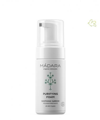 Madara cosmétique bio Mousse Nettoyante Purifiante acné peau grasse impure certifié