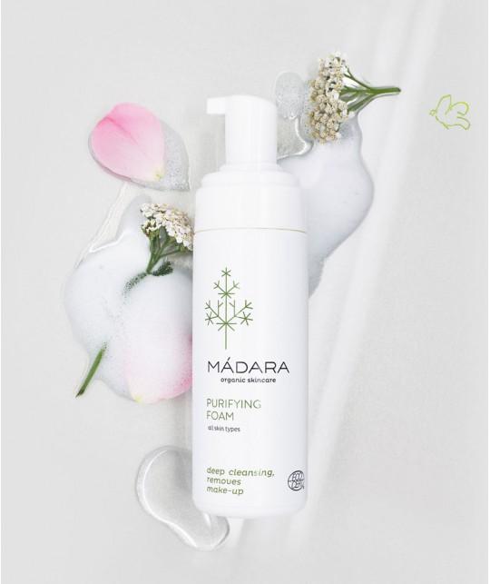 Madara organic skincare Purifying Foam vegan cosmetics