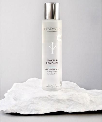 Madara Démaquillant bio bi-phasé vegan cosmétique naturel beauté maquillage