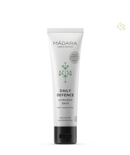 MADARA organic skincare Daily Defense Cream green cosmetics certified