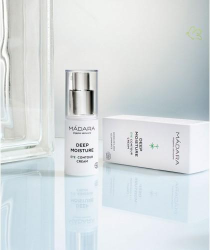 MADARA organic skincare - Eye Contour Cream Deep Moisture cosmetics certified natural beauty