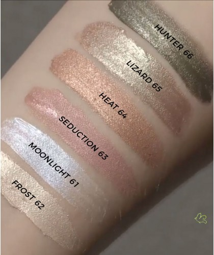 Madara Fard à Paupières & Joues Blush liquide enlumineur bio Guilty Shades maquillage naturel swatch