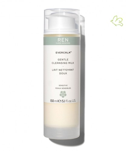 REN skincare EverCalm Gentle Cleansing Milk clean cosmetics