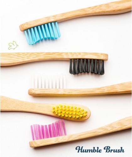 Humble Brush Brosse à Dents écologique en Bambou certifié Vegan Cruelty free design suédois