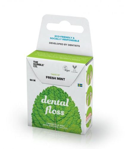 Humble Brush Fil dentaire écologique - Menthe fraiche Vegan recyclable compostable