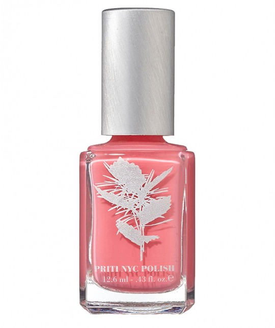 Priti NYC Nail Polish non toxic 242 Hedgehog Rose