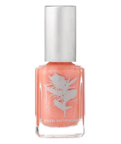 Priti NYC - Vernis à Ongles 440 Remember Me Rose naturel green non toxique