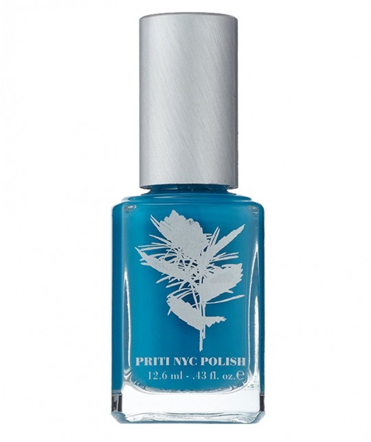 Priti NYC Vernis à Ongles 656 Blue Wedgwood naturel green vegan