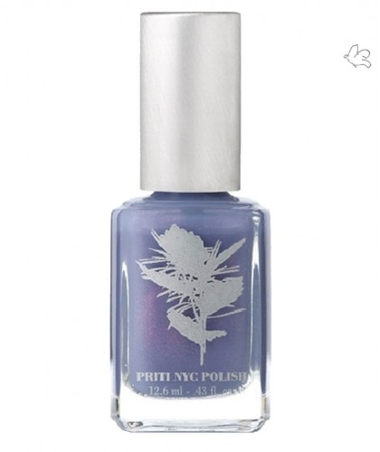 Priti NYC Natural Nail Polish 379 Happy Wanderer lilac green beauty vegan