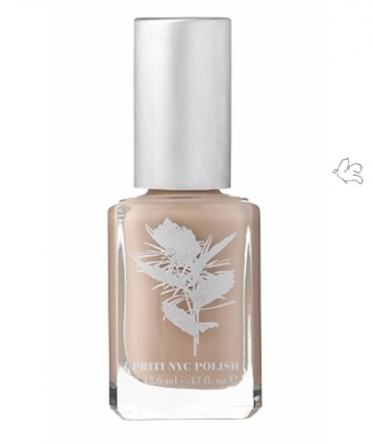 Priti NYC Nagellack Green Nude 527 Rabbit Foot Clover Vegan Ökolack clean beauty