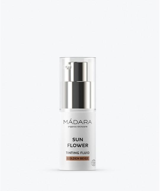 MADARA organic cosmetics Sun Flower Golden Beige Tinting Fluid travel size 15ml