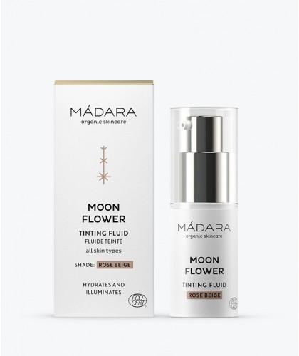 MADARA BB Crème Teintée Fluide Moon Flower beige rosé format mini voyage flacon pompe cosmétique bio