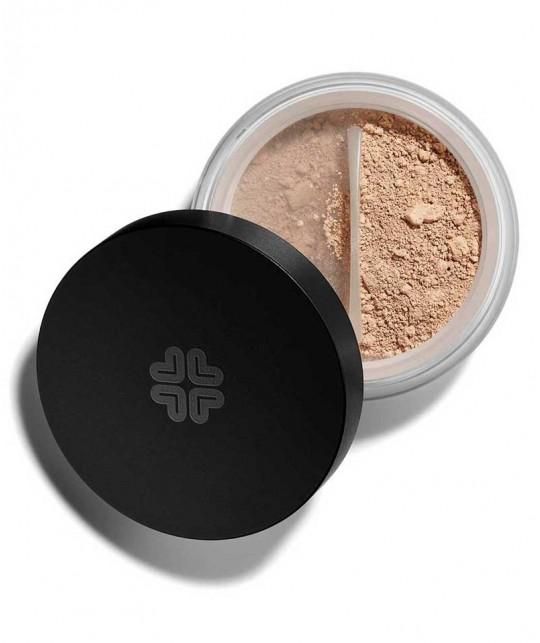 Lily Lolo Correcteur Teint Minéral Caramel maquillage peau sensible acné anti-bactérien poudre