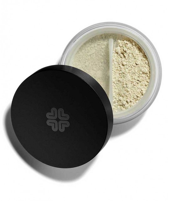 Lily Lolo Mineral Corrector Blush Away natural cosmetics vegan swatch