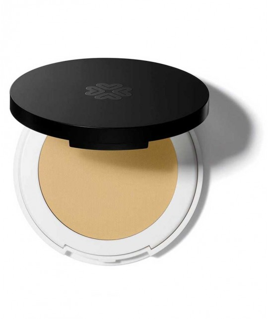 Lily Lolo Mineral cosmetics Pressed Corrector lemon drop yellow