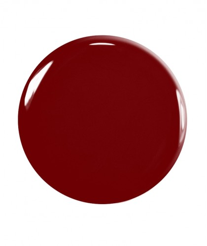 Manucurist Nagellack Green Dark Pansy Bordeaux rot swatch vegan Naturkosmetik