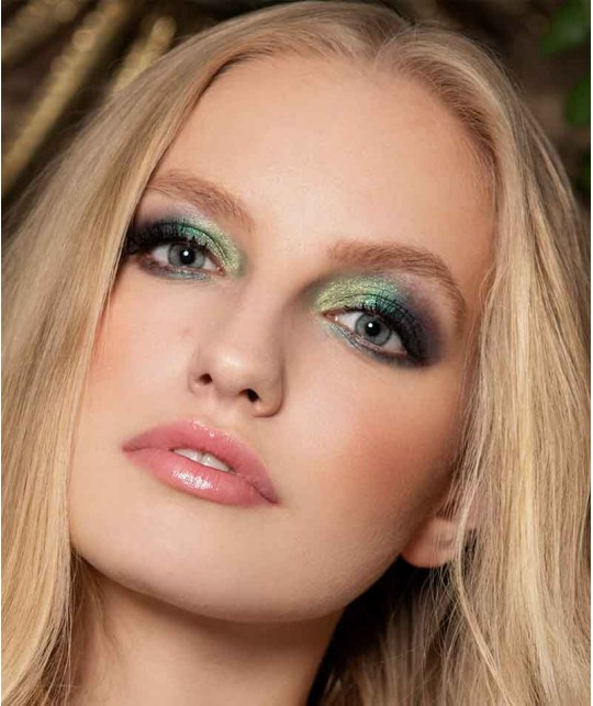 LILY LOLO - Mineral Eye Shadow Green Opal cosmetics natural beauty