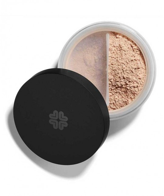 LILY LOLO Mineral Foundation SPF 15 Candy Cane swatch natural beauty green cosmetics