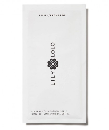 Lily Lolo Mineral Foundation Refill SPF 15 Natural Beauty clean cosmetics green