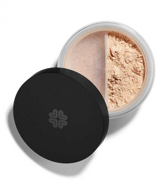 LILY LOLO Mineral Foundation SPF 15 Barely Buff powder natural beauty clean green cosmetics l'Officina