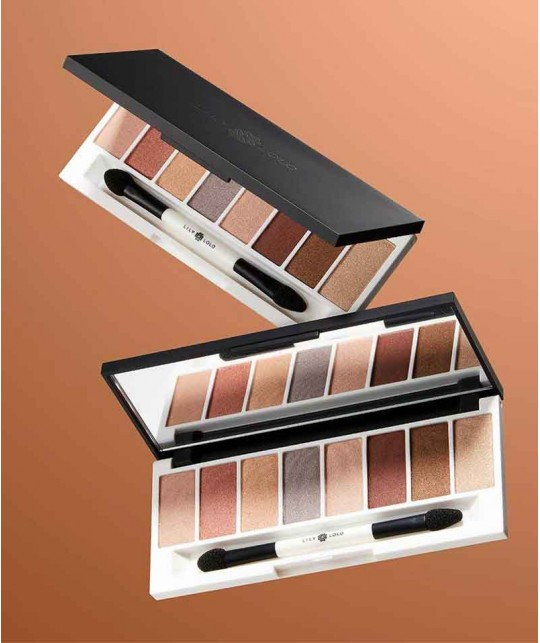LILY LOLO Eye Palette Bronze Age mineral cosmetics eye shadow natural beauty swatch