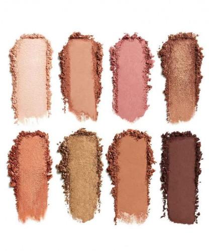 LILY LOLO Palette Yeux Golden Hour or fard à paupières minéral maquillage bio naturel swatch