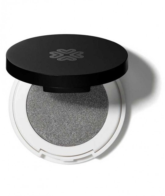 Lily Lolo Pressed Eye Shadow Silver Lining mineral cosmetics natural beauty green