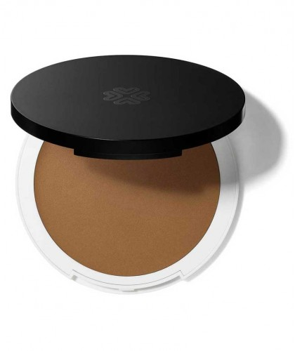 Lily Lolo Cream Foundation natural beauty Bamboo green cosmetics clean swatch