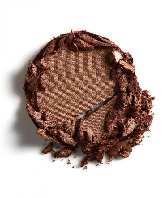 LILY LOLO - Pressed Eye Shadow brown In for a Penny mineral cosmetics green beauty clean swatch