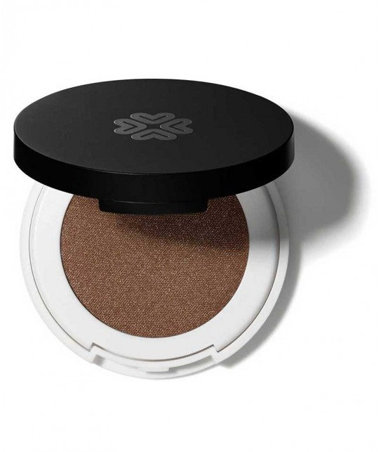 LILY LOLO Naturkosmetik Pressed Eye Shadow Braun Compact Lidschatten In for a Penny Mineral green beauty