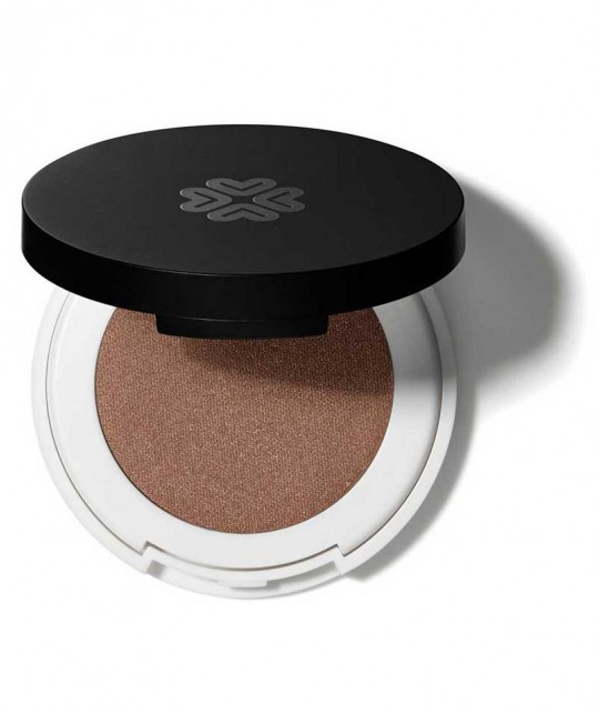 LILY LOLO Naturkosmetik Pressed Eye Shadow Braun Lidschatten Take the Biscuit Mineral green beauty