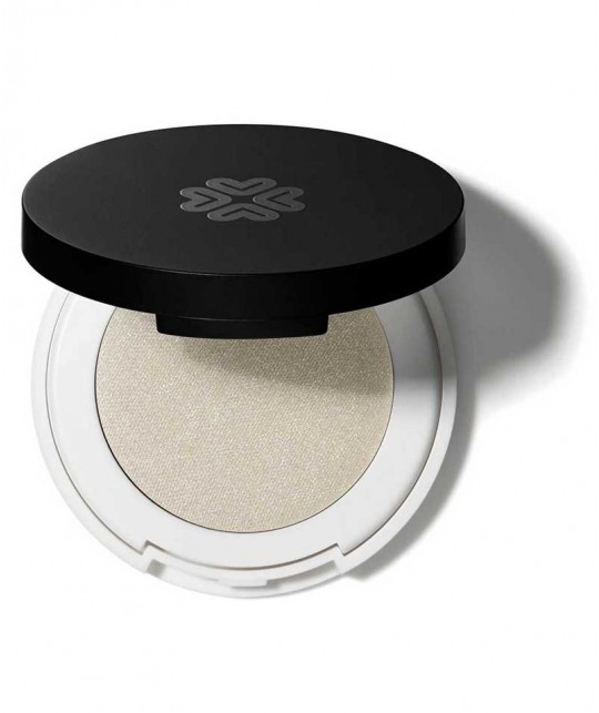LILY LOLO - Pressed Eye Shadow white Starry Eyed mineral cosmetics green beauty clean