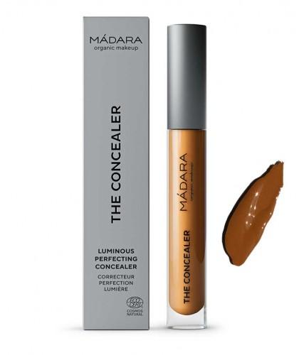Madara organic Makeup The Concealer Naturkosmetik Augenringe kaschieren Rötungen Makel Hazelnut mittel