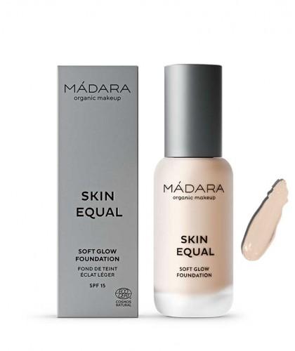 Madara organic makeup Soft Glow Foundation Skin Equal Porcelain 10