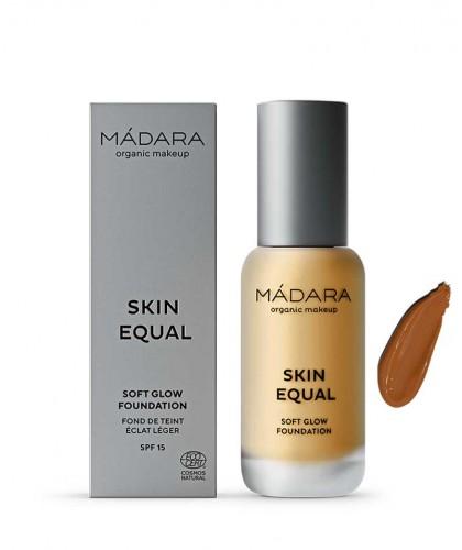 Madara organic makeup Skin Equal Soft Glow Foundation Caramel 70