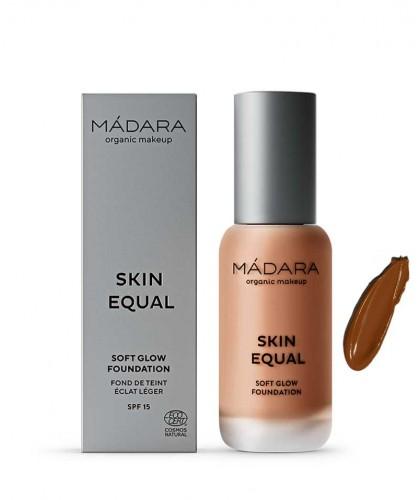 Madara organic makeup Skin Equal Soft Glow Foundation Fudge 80