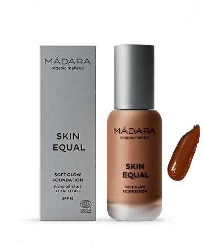 Madara Fond de Teint Skin Equal liquide maquillage bio Chestnut 90