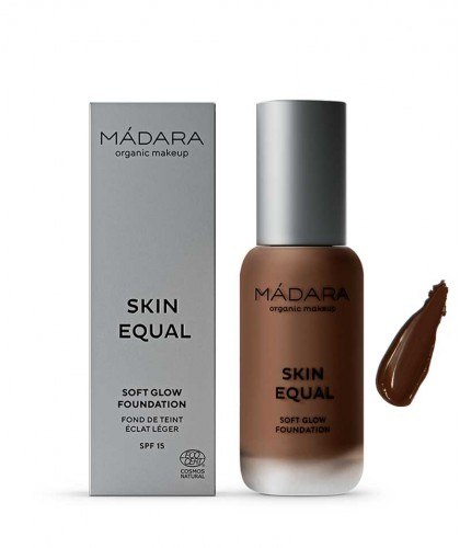 Madara organic makeup Skin Equal Soft Glow Foundation Mocha 100