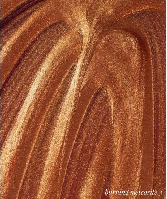 Madara Enlumineur de Teint liquide bio Cosmic Drops Highlighter maquillage bio beauté clean green Bronze Burning Meteorite 3