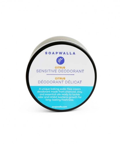 Sensitive Skin Citrus Deodorant Cream