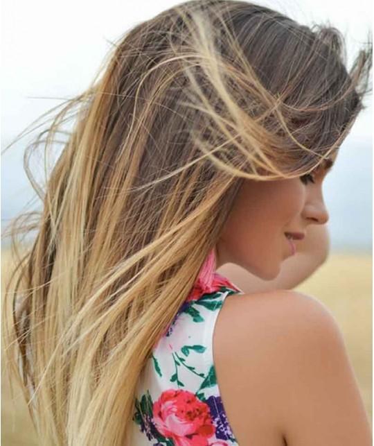 UNIQUE Haircare Colour Care Shampoo Kornblume Naturkosmetik mini reisegrösse