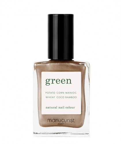 Manucurist Nail Polish GREEN Bronzé natural clean vegan beauty
