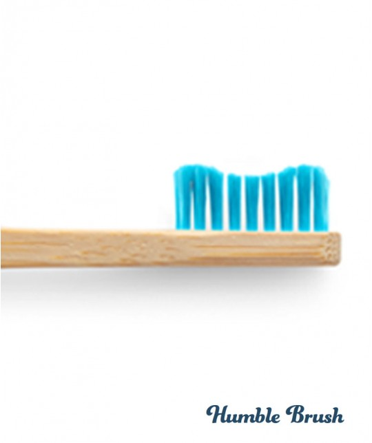 Humble Brush Bamboo Toothbrush with replaceable heads removable Vegan sustainable zero waste ecofriendly