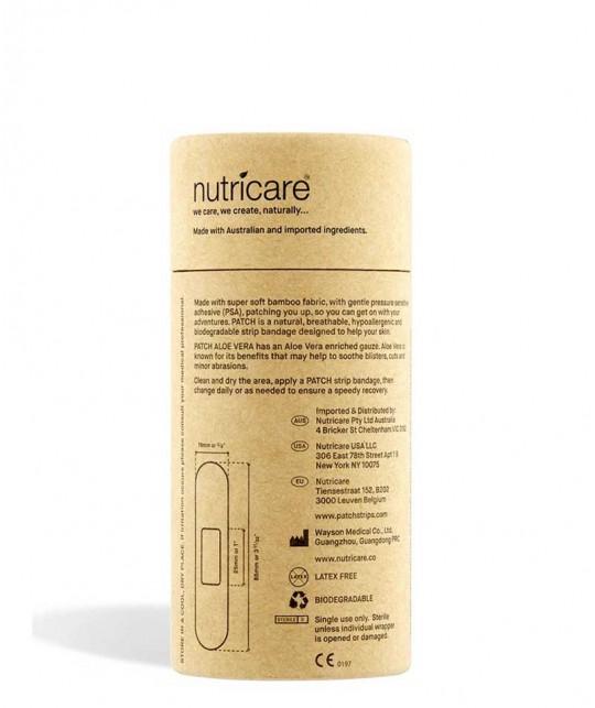 PATCH by Nutricare Bambuspflaster - Aloe Vera empfindliche Haut nachhaltig abbaubar Naturkosmetik