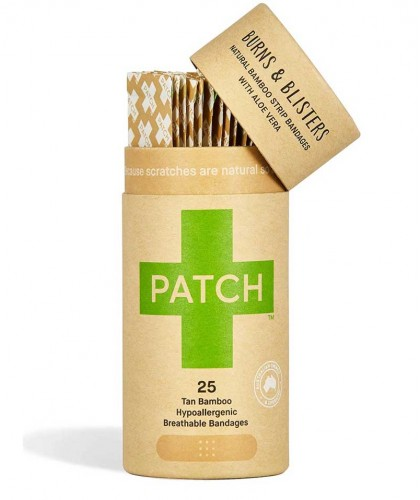 Patch by Nutricare Aloe Vera Bamboo Bandages sensitive skin vegan zero waste