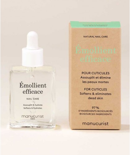 Manucurist Green nail care Cuticle Remover Émollient Efficace natural beauty